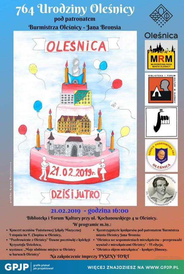 764 Urodziny Oleśnicy